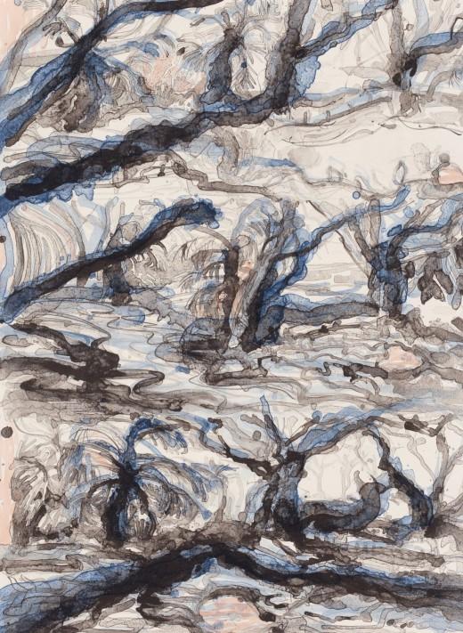 Ron McBurnie - 'Heart shaped yam at Wadda Mooli Creek'