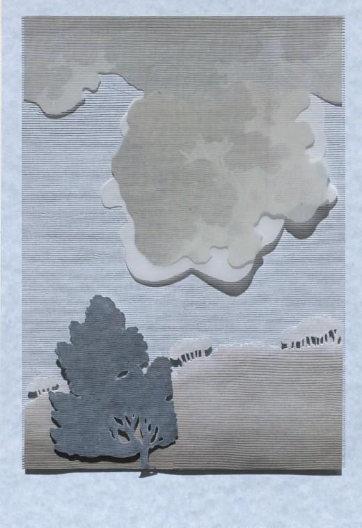 Silvester, Julia 'Antipodean Landscape' Impressions 2018
