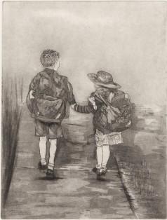 Tonge, Gera 'WALKING TO SCHOOL IN WINTER' Impressions 2018